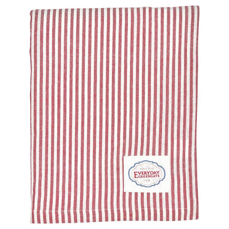 a12995x.jpg - Duk Alice Stripe, Red 145 x 250 cm - Elsashem Butiken med det lilla extra...