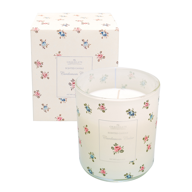 a13023x.jpg - Scented candle Hailey, Red 240 g - Elsashem Butiken med det lilla extra...