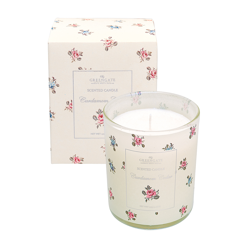 a13024x.jpg - Scented candle Hailey, Red 140 g - Elsashem Butiken med det lilla extra...