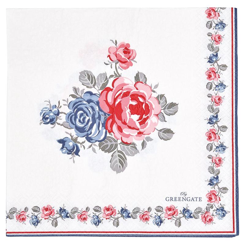 a13028x.jpg - Servetter Hailey, White - Elsashem Butiken med det lilla extra...