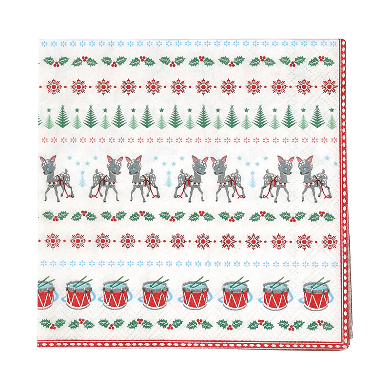 a13033x.jpg - Servetter Bambi, White small - Elsashem Butiken med det lilla extra...