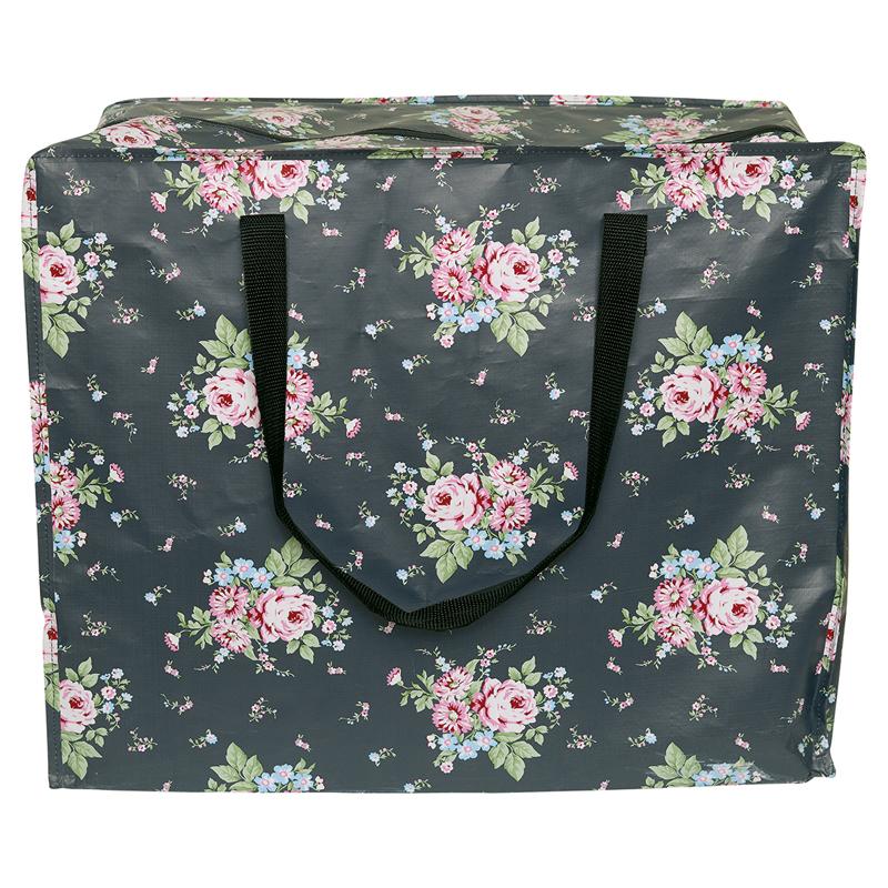 a13043x.jpg - Storage bag Marley, Dark grey large - Elsashem Butiken med det lilla extra...