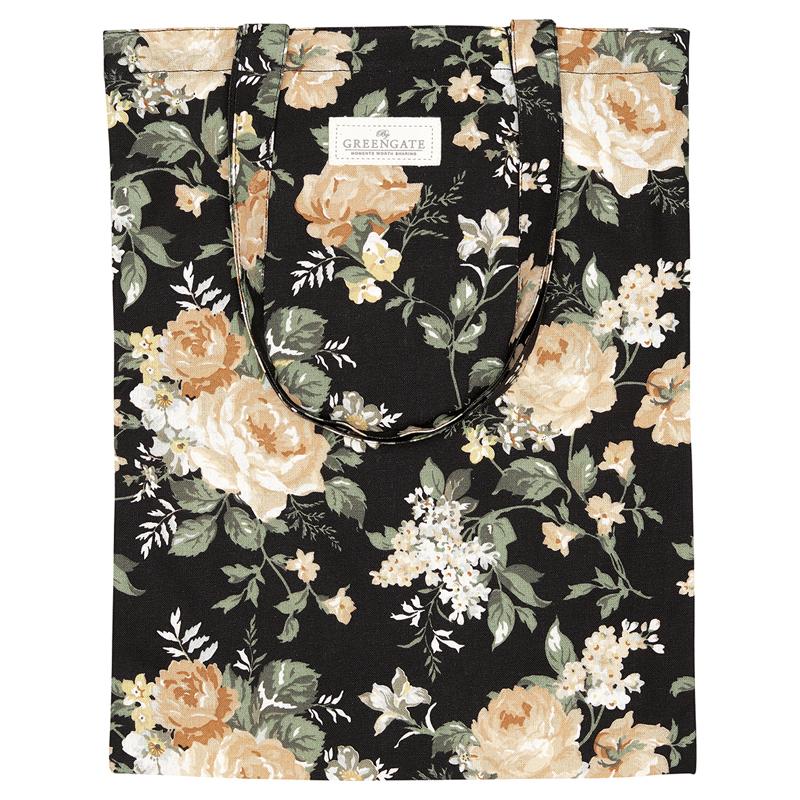 a13048x.jpg - Bag cotton Josephine, Black - Elsashem Butiken med det lilla extra...