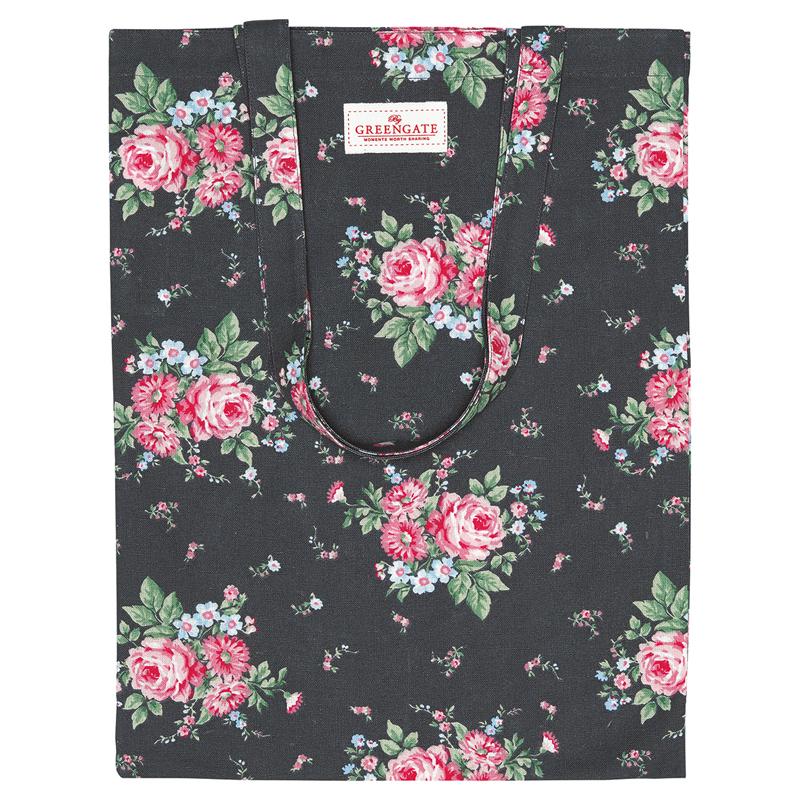 a13050x.jpg - Bag cotton Marley, Dark grey - Elsashem Butiken med det lilla extra...