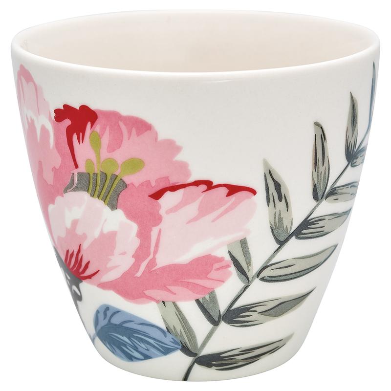 a13104x.jpg - Lattemugg Magnolia, White - Elsashem Butiken med det lilla extra...