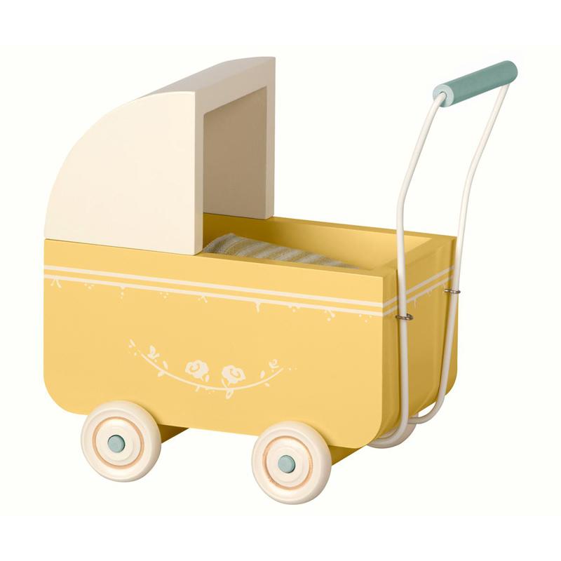 a13149x.jpg - Dockvagn Micro, Gul - Elsashem Butiken med det lilla extra...