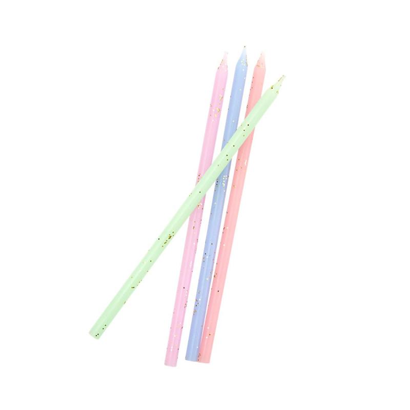 a13190-2x.jpg - Long cake candle - assorted pastel colors - Elsashem Butiken med det lilla extra...