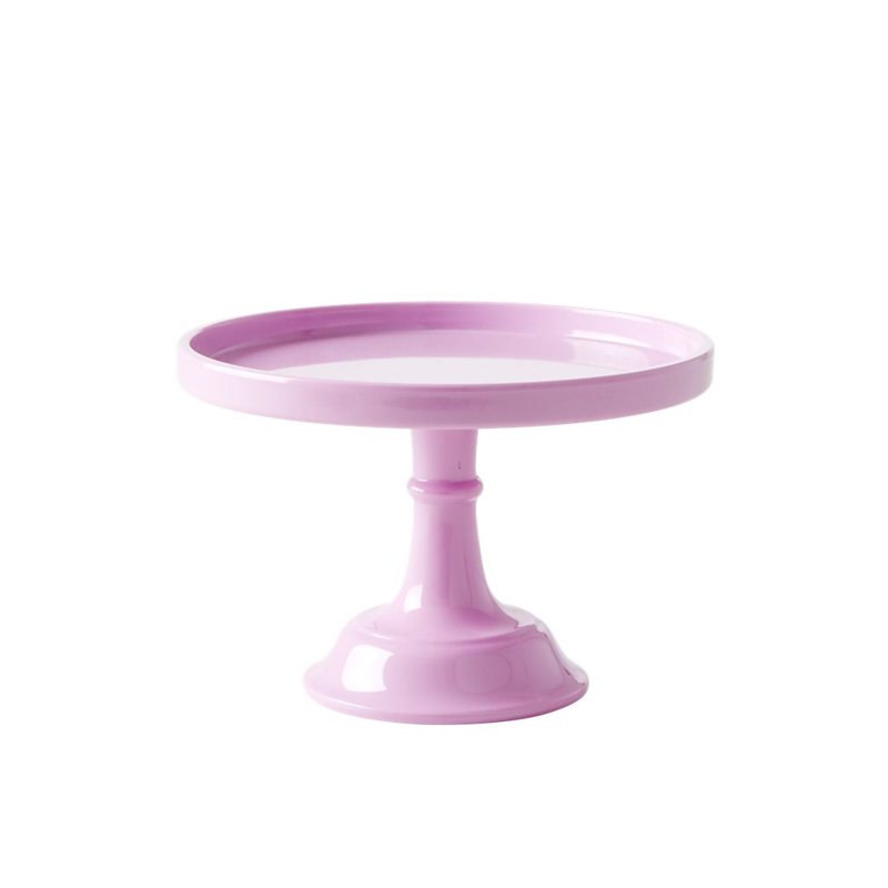 a13196x.jpg - Melamine cake stand, Pink - XSmall - Elsashem Butiken med det lilla extra...