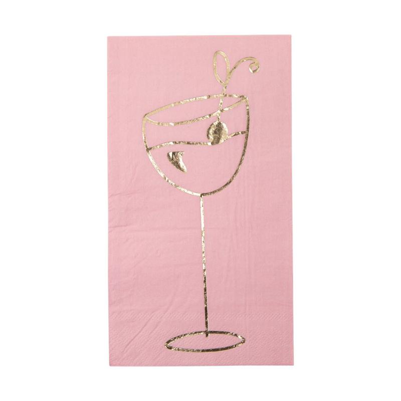 a13206x.jpg - Lunch napkin with gold print - Elsashem Butiken med det lilla extra...
