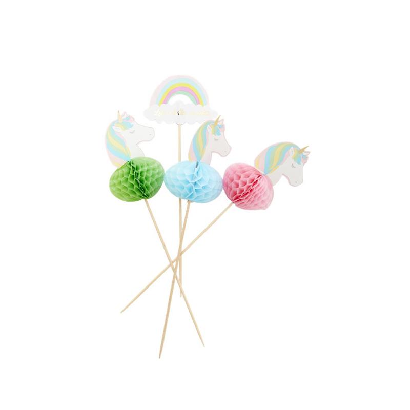 a13210-2x.jpg - Party sticks in unicorn and rainbow shape - Elsashem Butiken med det lilla extra...