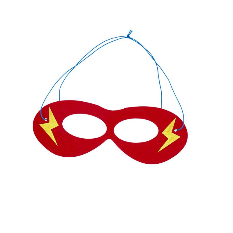 a13216x.jpg - Felt masks in kids super hero theme - Elsashem Butiken med det lilla extra...