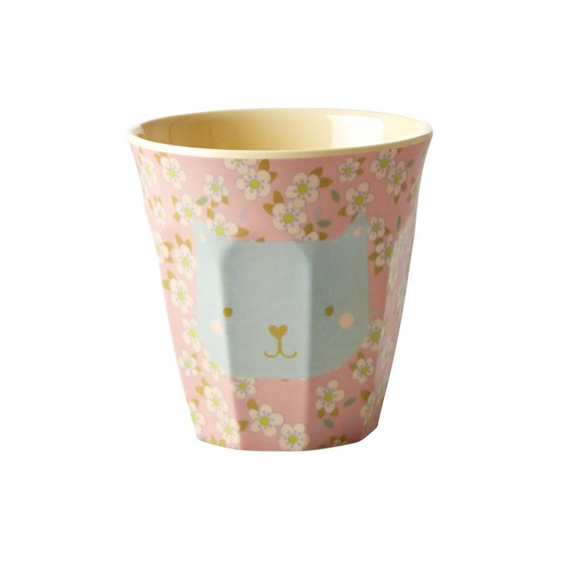 a13222x.jpg - Melamine kids cup with Animal print, Small - Elsashem Butiken med det lilla extra...