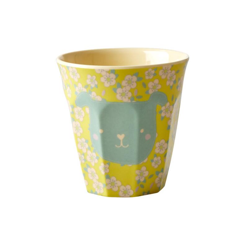 a13223x.jpg - Melamine kids cup with Animal print, Small - Elsashem Butiken med det lilla extra...