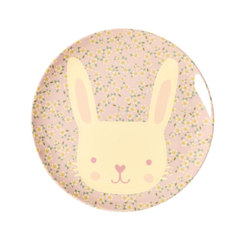 a13228x.jpg - Melamine kids lunch plate with Animal print - Elsashem Butiken med det lilla extra...