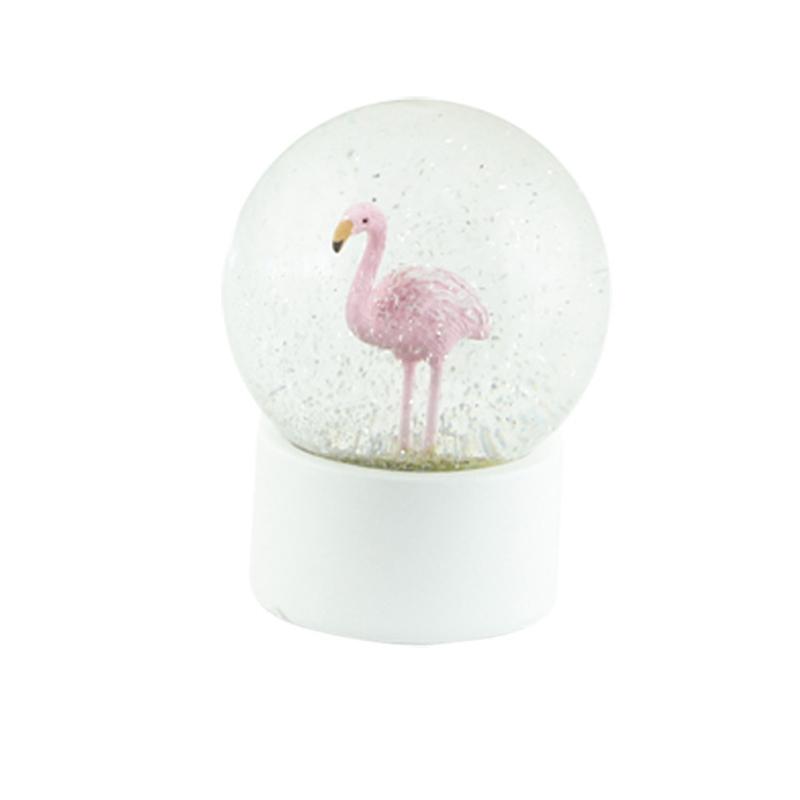 a13278-2x.jpg - Snöglob Flamingo, Liten - Elsashem Butiken med det lilla extra...