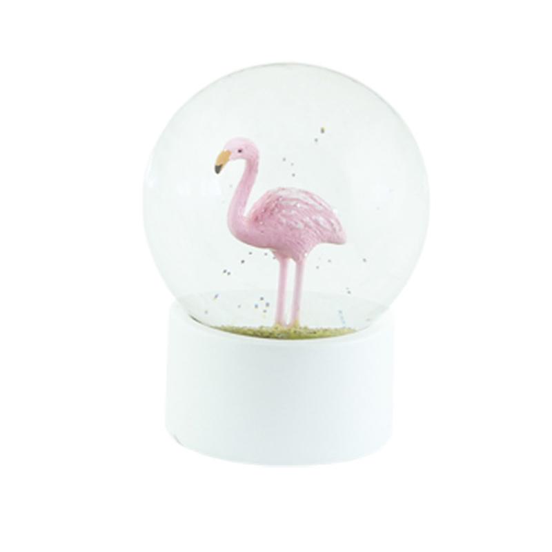 a13278x.jpg - Snöglob Flamingo, Liten - Elsashem Butiken med det lilla extra...