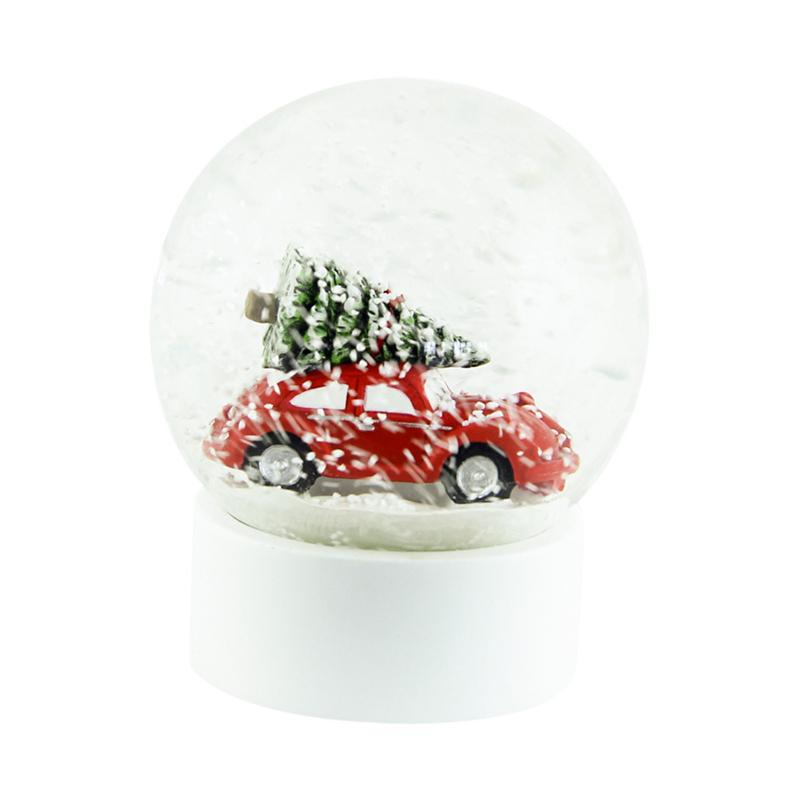 a13281-2x.jpg - Snöglob Röd bil, Stor - Elsashem Butiken med det lilla extra...