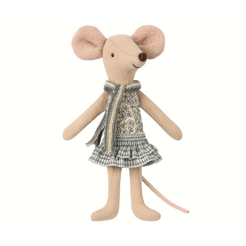 a13295x.jpg - Winter mouse, Big sister in bag - Elsashem Butiken med det lilla extra...