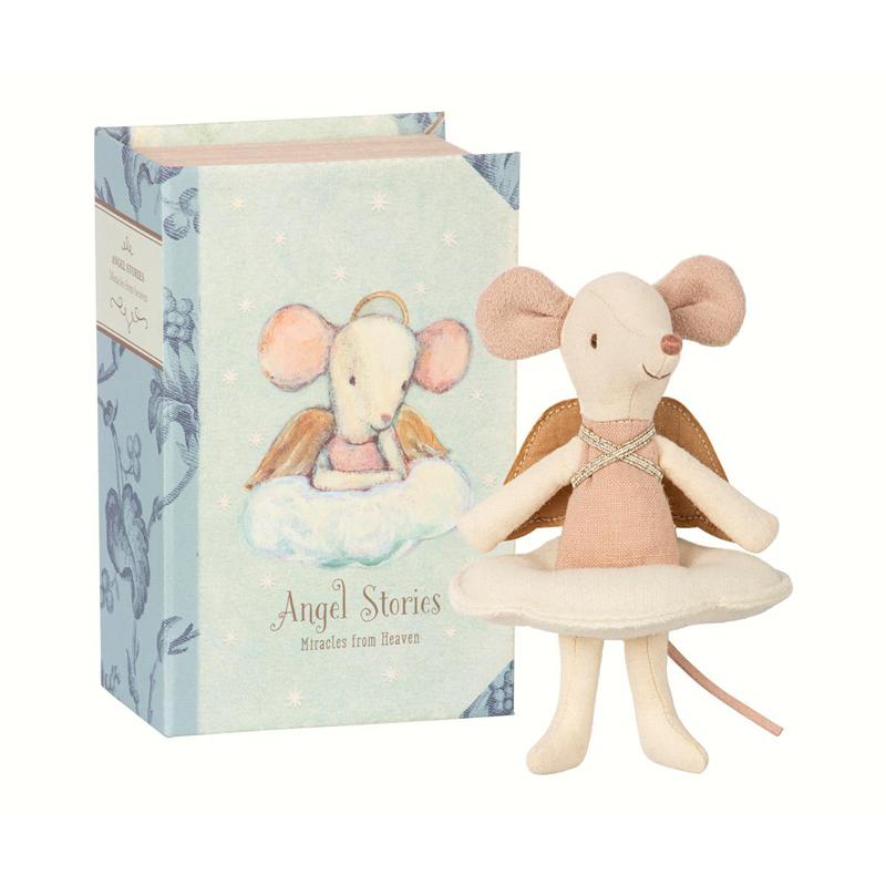 a13296x.jpg - Angel mouse, Big sister in book - Elsashem Butiken med det lilla extra...