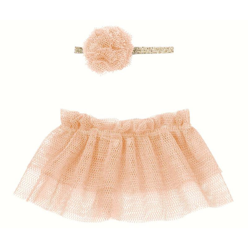 a13298x.jpg - Tutu & hairband Rose, Mini - Elsashem Butiken med det lilla extra...