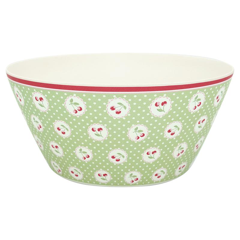 a13336x.jpg - Bowl Cherry berry, Pale green large - Elsashem Butiken med det lilla extra...