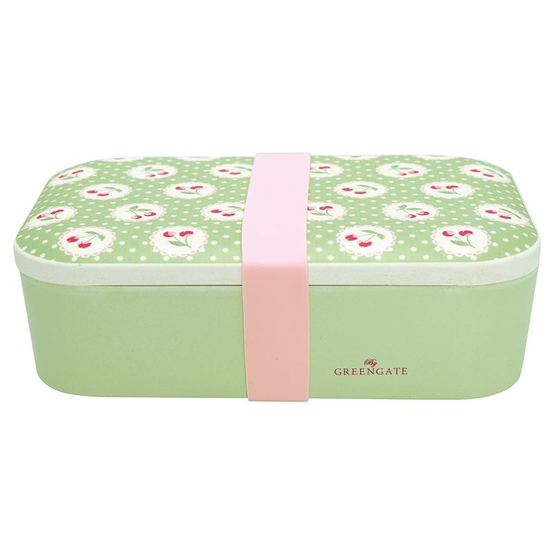 a13341x.jpg - Lunch box Cherry berry, Pale green - Elsashem Butiken med det lilla extra...