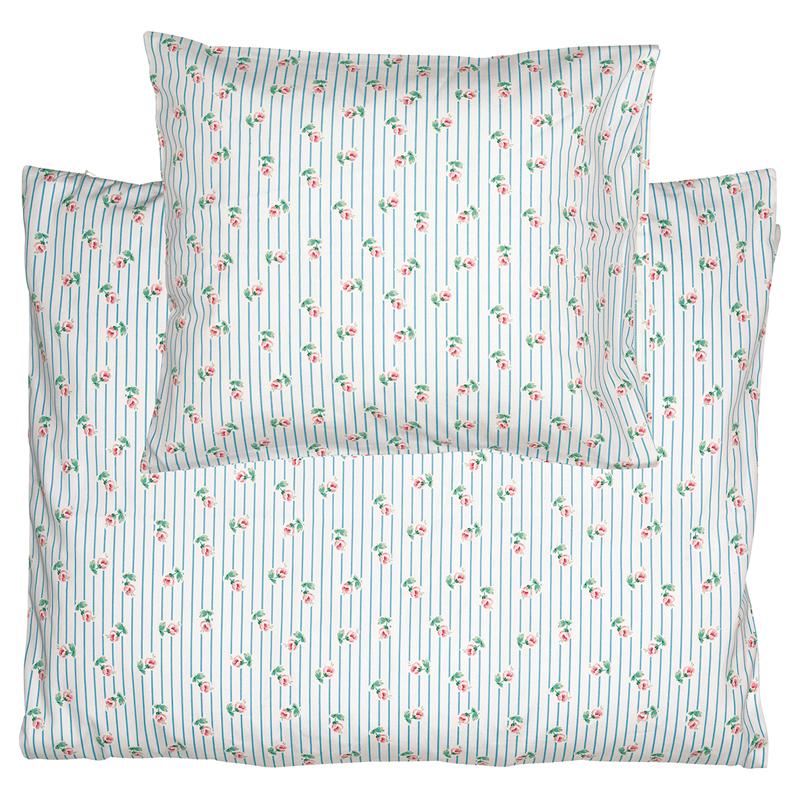 a13360x.jpg - Bed linen set baby/kids Lily, Petit white - Elsashem Butiken med det lilla extra...