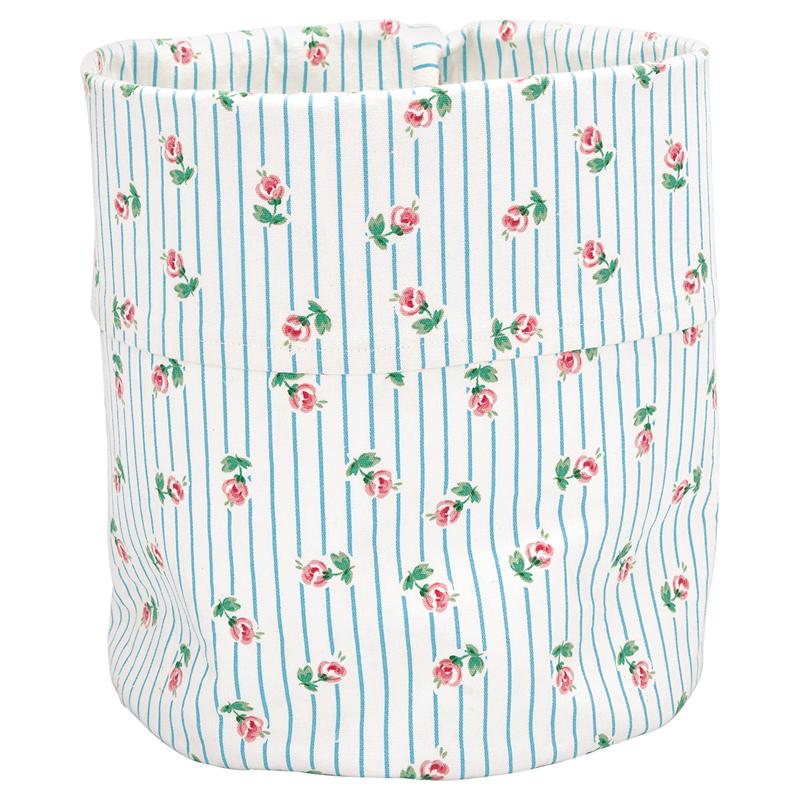 a13365x.jpg - Storage bag Lily, Petit white medium - Elsashem Butiken med det lilla extra...