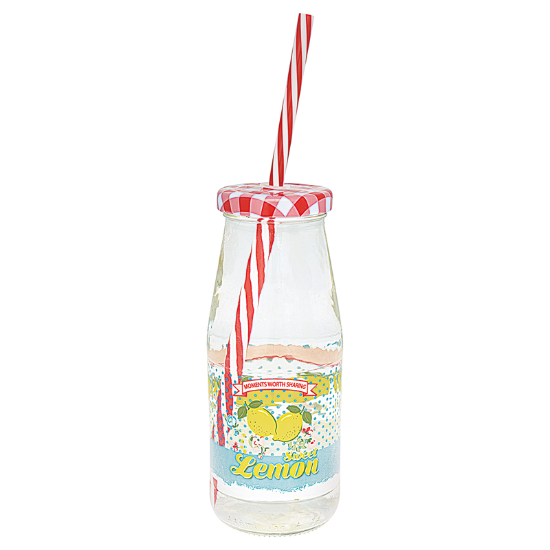 a13369x.jpg - Bottle Limona, Pale blue w/lid and straw - Elsashem Butiken med det lilla extra...
