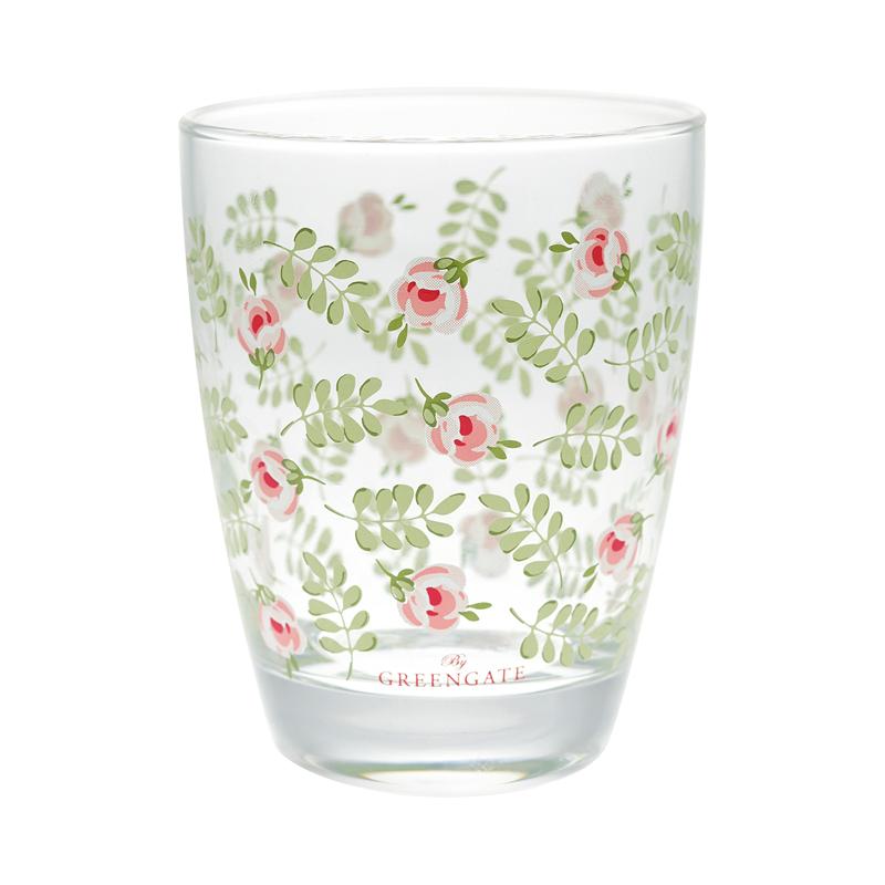 a13374x.jpg - Water glass Lily, Petit white - Elsashem Butiken med det lilla extra...
