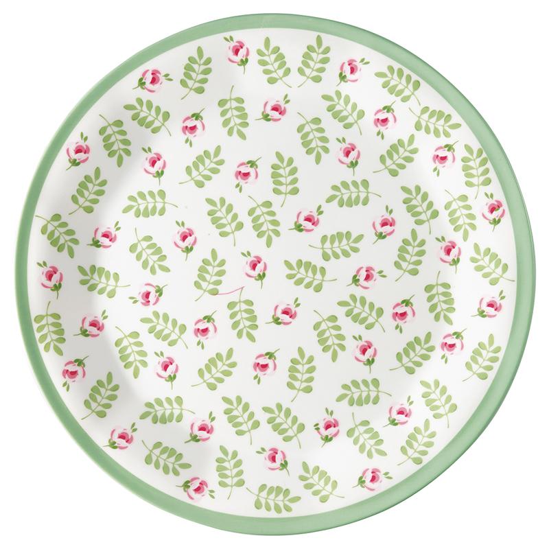 a13382x.jpg - Plate Lily, Petit white - Elsashem Butiken med det lilla extra...