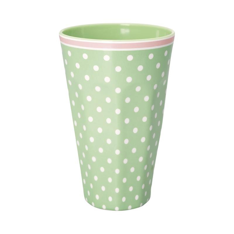 a13387x.jpg - Tall cup Spot, Pale green - Elsashem Butiken med det lilla extra...