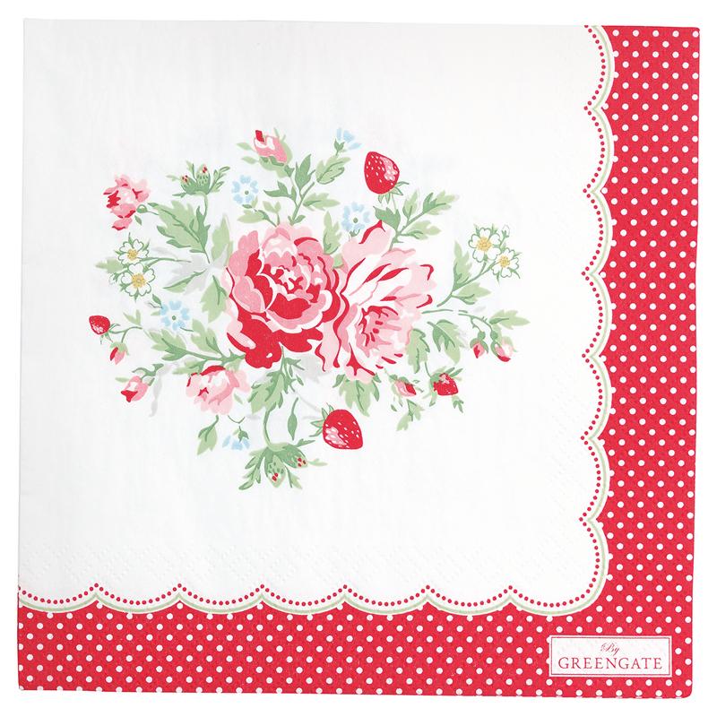 a13389x.jpg - Servetter Mary, White - Elsashem Butiken med det lilla extra...