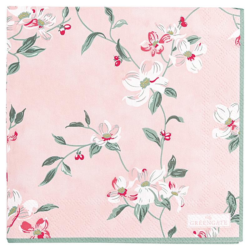 a13394x.jpg - Servetter Jolie, Pale pink small - Elsashem Butiken med det lilla extra...