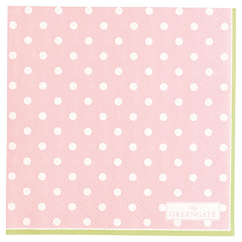 a13397x.jpg - Servetter Spot, Pale pink small - Elsashem Butiken med det lilla extra...