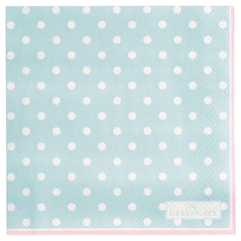 a13398x.jpg - Servetter Spot, Pale blue small - Elsashem Butiken med det lilla extra...