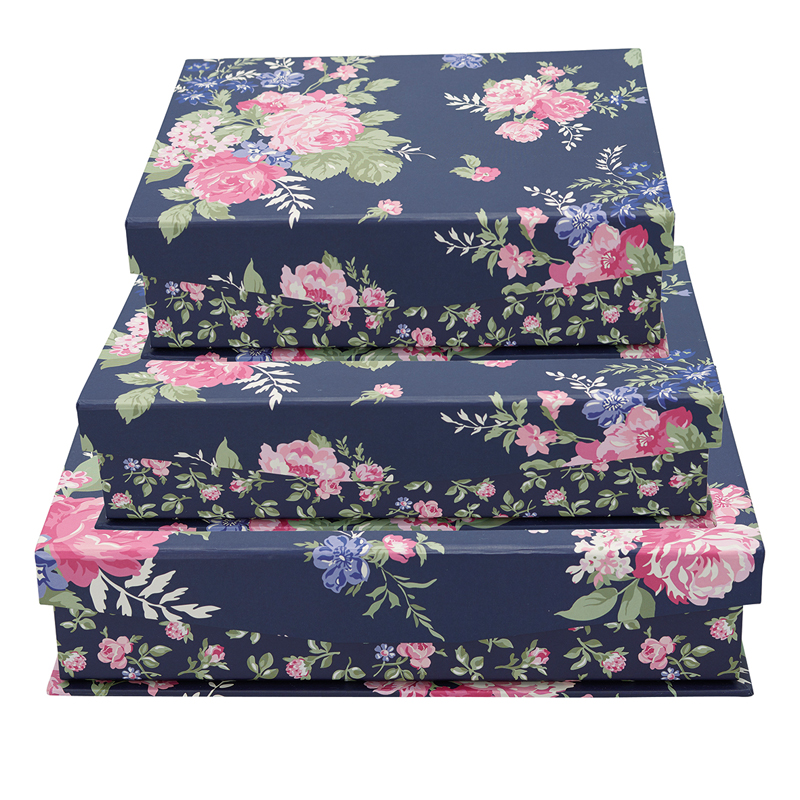 a13403x.jpg - Storage box Rose, Dark blue set of 3 assorted - Elsashem Butiken med det lilla extra...