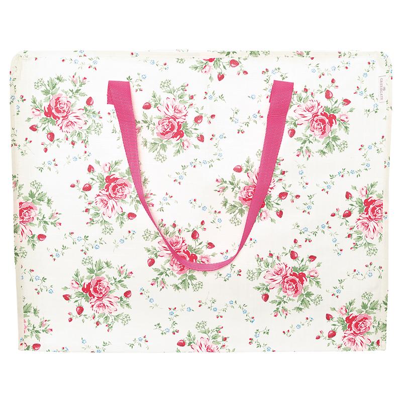 a13406x.jpg - Storage bag Mary, White large - Elsashem Butiken med det lilla extra...