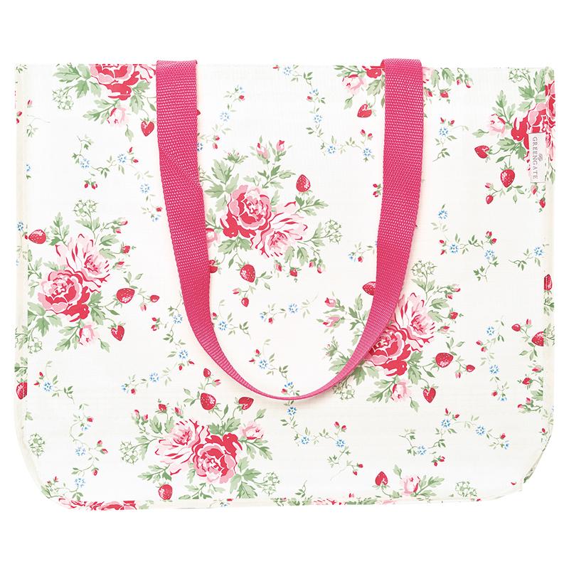 a13410x.jpg - Shopper bag Mary, White - Elsashem Butiken med det lilla extra...