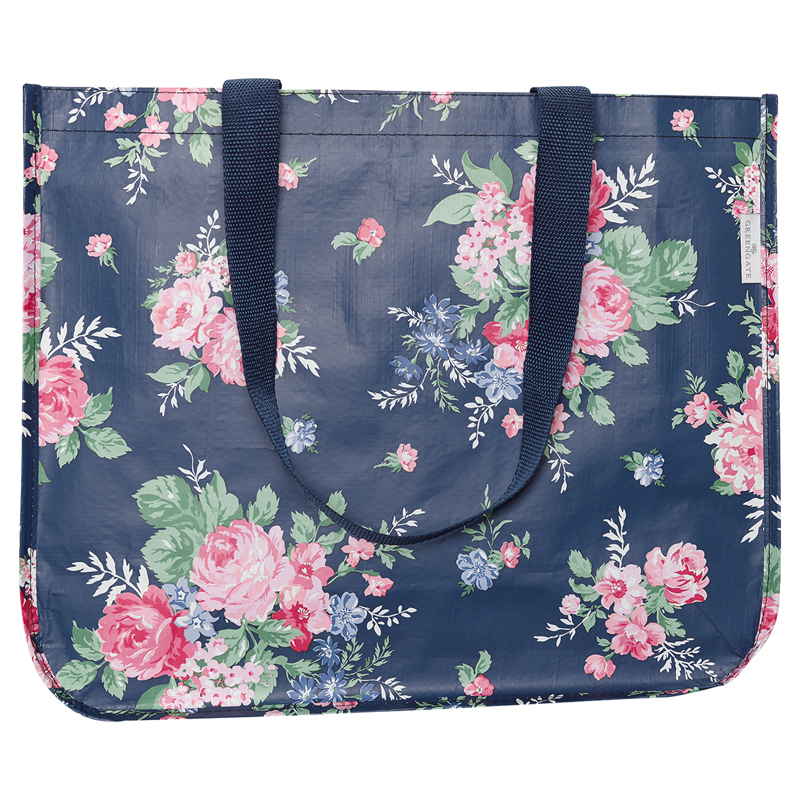 a13411x.jpg - Shopper bag Rose, Dark blue - Elsashem Butiken med det lilla extra...