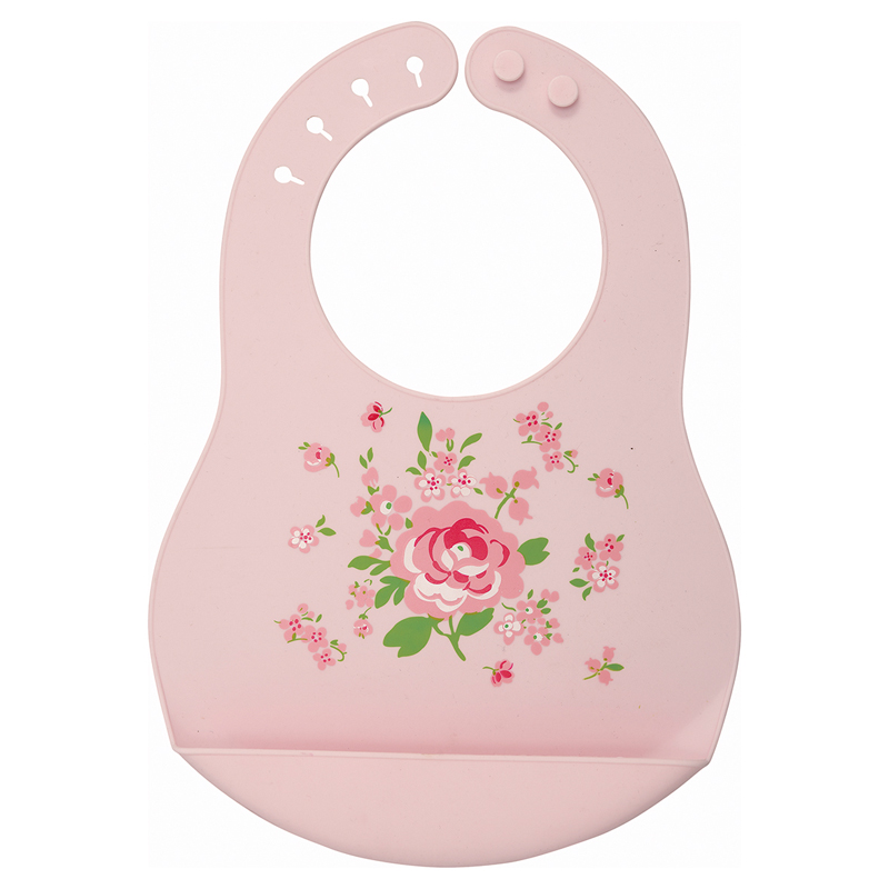a13413x.jpg - Baby bib Meryl, Pale pink - Elsashem Butiken med det lilla extra...