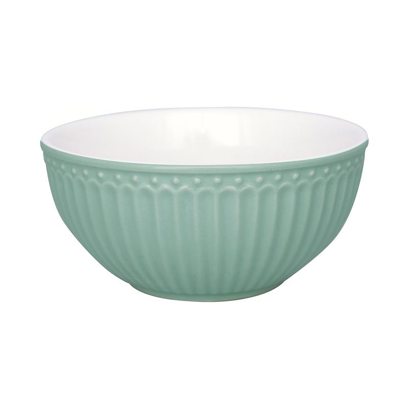 a13414x.jpg - Cereal bowl Alice, Dusty mint - Elsashem Butiken med det lilla extra...