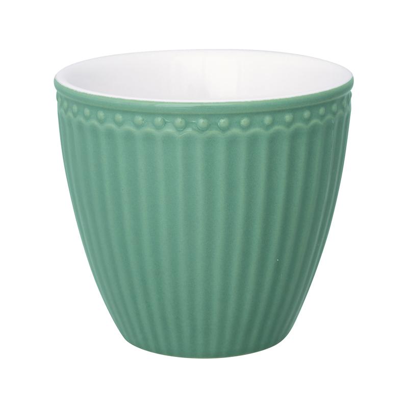 a13424x.jpg - Lattemugg Alice, Dusty green - Elsashem Butiken med det lilla extra...