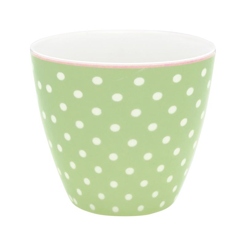 a13427x.jpg - Lattemugg Spot, Pale green - Elsashem Butiken med det lilla extra...