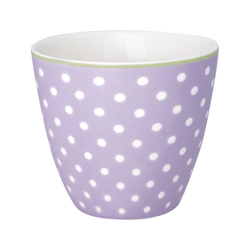 a13428x.jpg - Lattemugg Spot, Lavendar - Elsashem Butiken med det lilla extra...