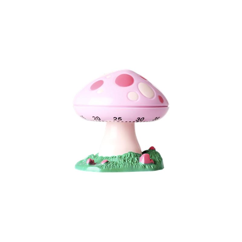 a13443x.jpg - Kitchen timer in Mushroom shape, Pink - Elsashem Butiken med det lilla extra...