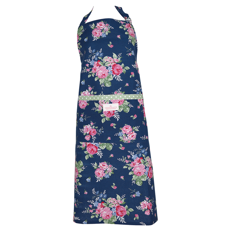a13455x.jpg - Förkläde Rose, Dark blue - Elsashem Butiken med det lilla extra...