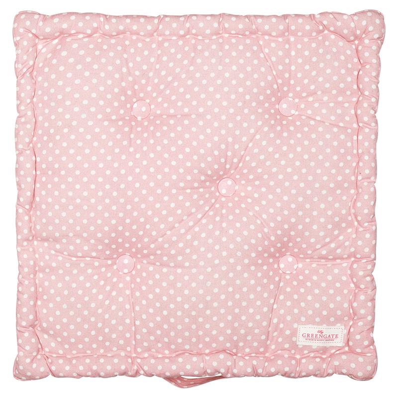 a13469x.jpg - Box cushion Spot, Pale pink - Elsashem Butiken med det lilla extra...