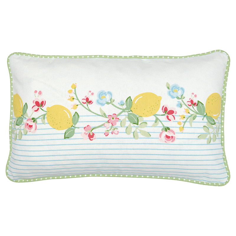 a13470x.jpg - Kuddfodral Limona, White piece printed - Elsashem Butiken med det lilla extra...