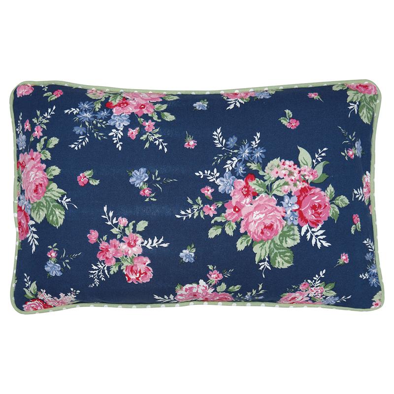 a13471x.jpg - Kuddfodral Rose, Dark blue - Elsashem Butiken med det lilla extra...